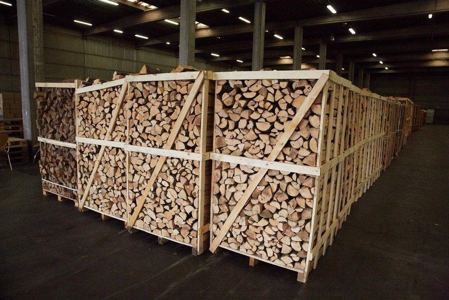 Kwalitatief brandhout afhalen